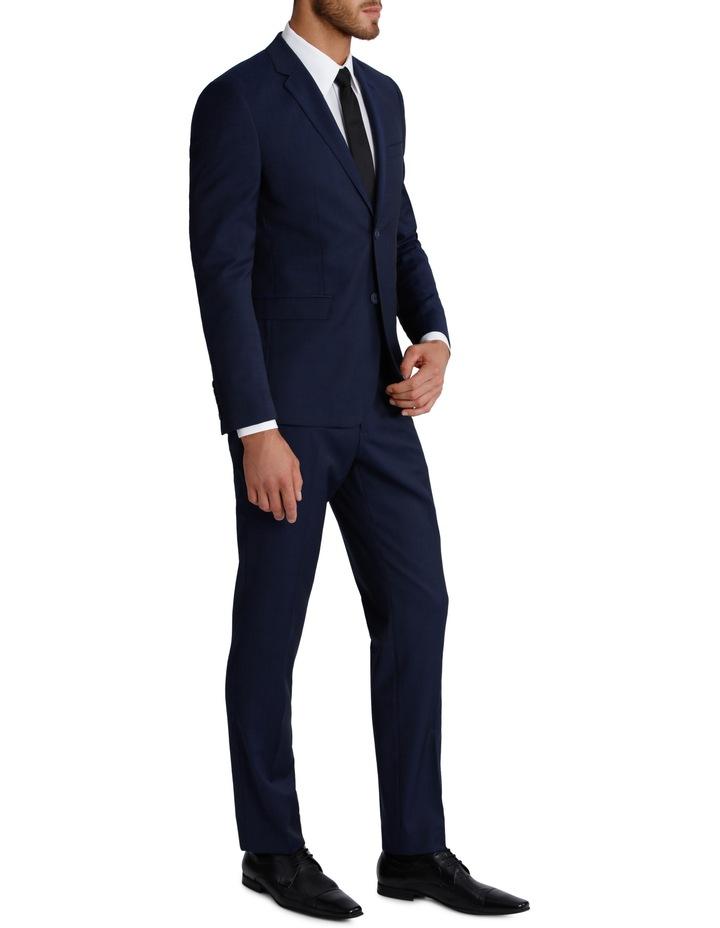 Slim Fit Blue Suit Trouser 3Q6400 image 2