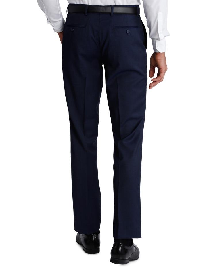 Slim Fit Blue Suit Trouser 3Q6400 image 3