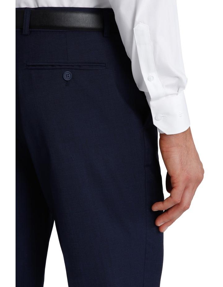 Slim Fit Blue Suit Trouser 3Q6400 image 4