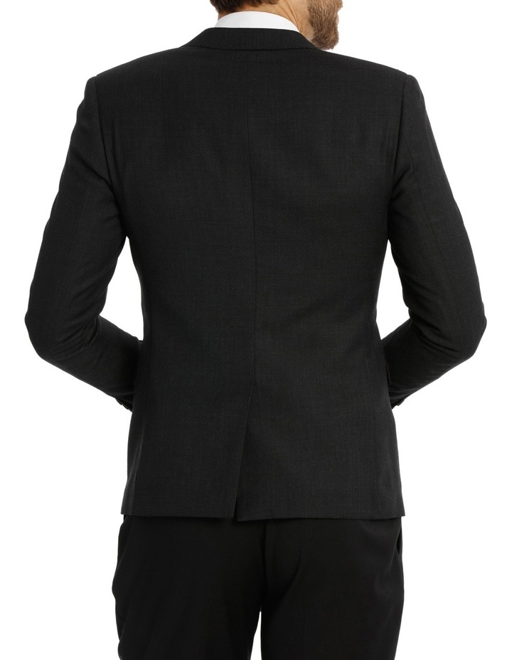 Charcoal Birdseye Suit Jacket 4Q7401 image 3