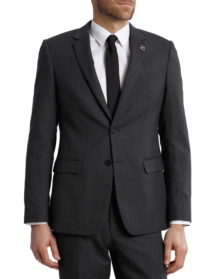 Tailored Birdseye Suit Jacket image 1