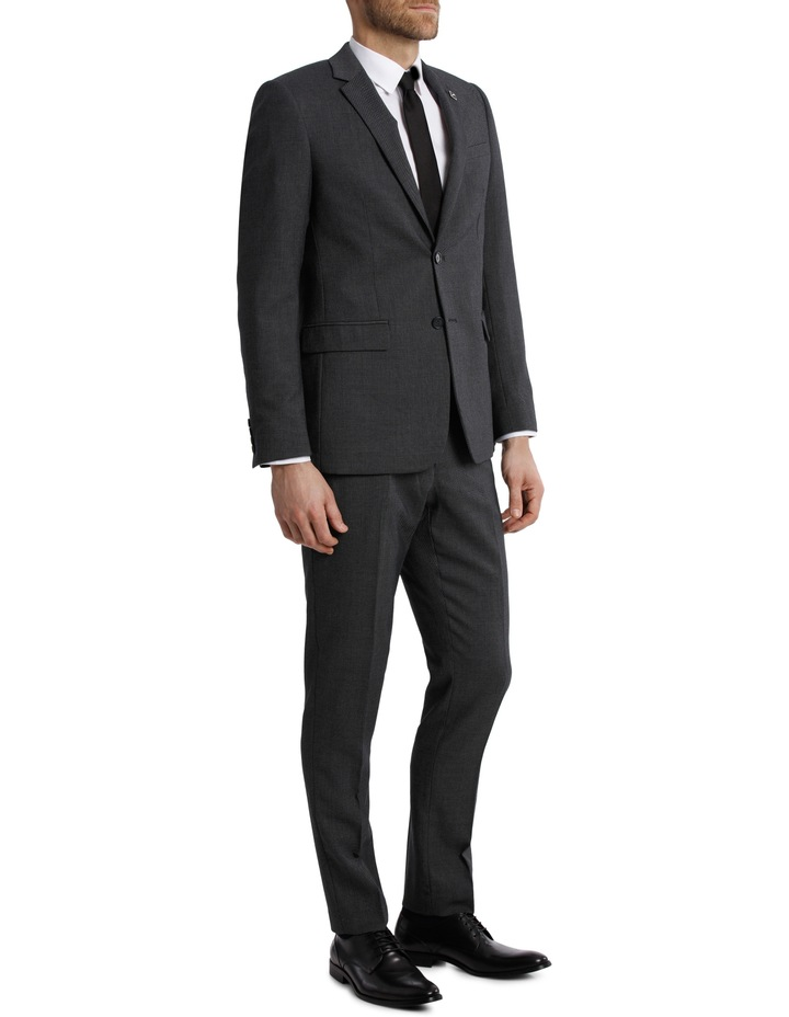 Tailored Birdseye Suit Jacket image 2