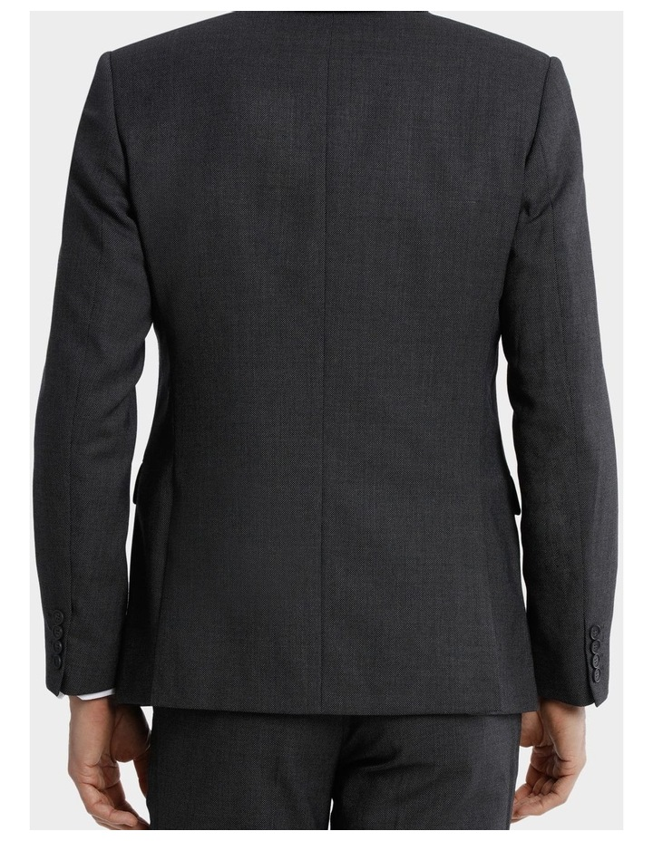 Tailored Birdseye Suit Jacket image 6