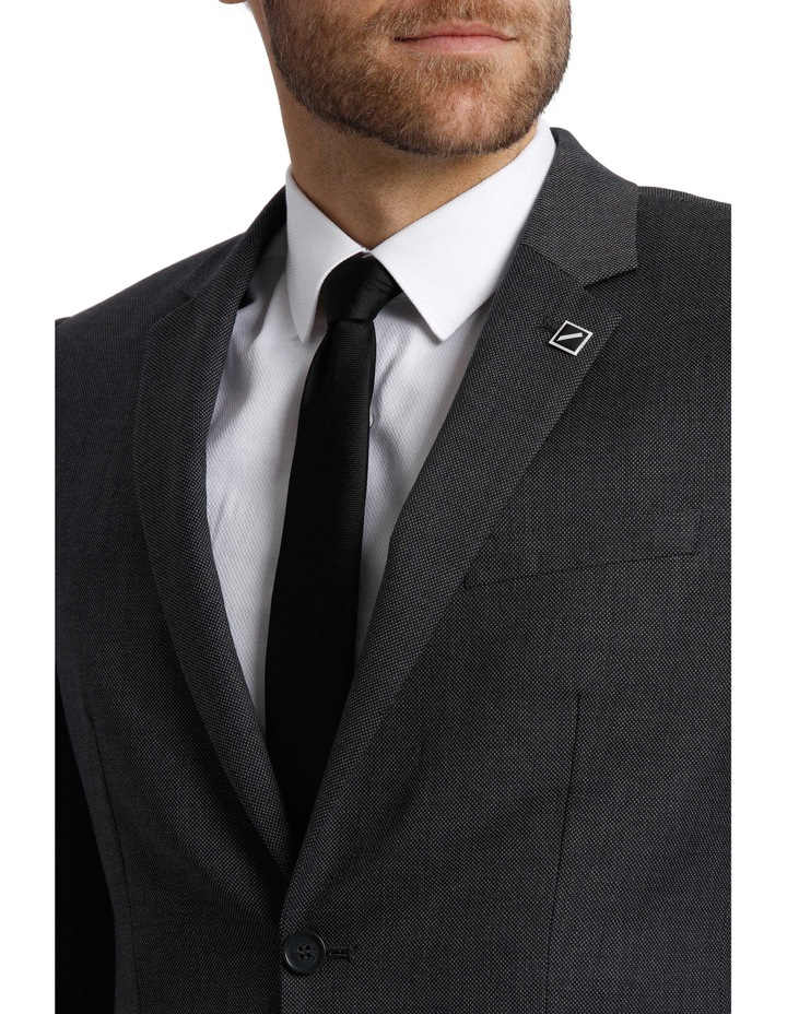 Tailored Birdseye Suit Jacket image 4