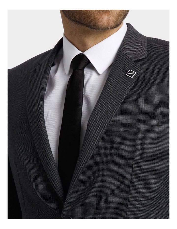 Tailored Birdseye Suit Jacket image 8