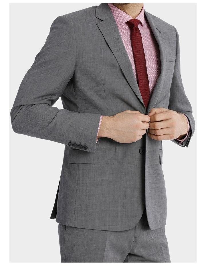 Tailored Sharkskin Suit Jacket image 4