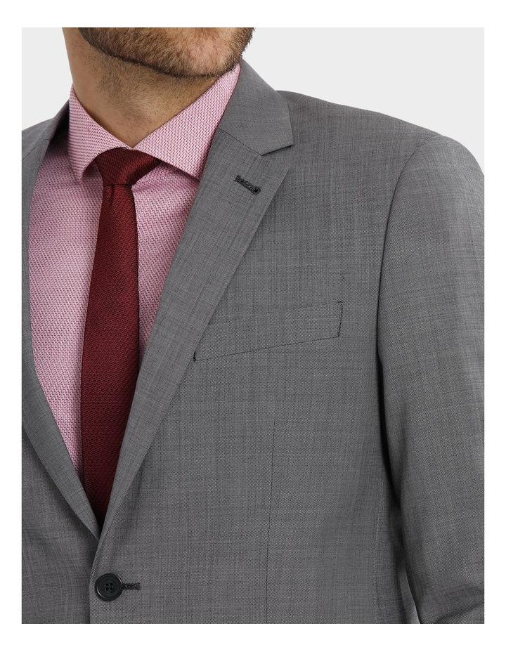 Tailored Sharkskin Suit Jacket image 8