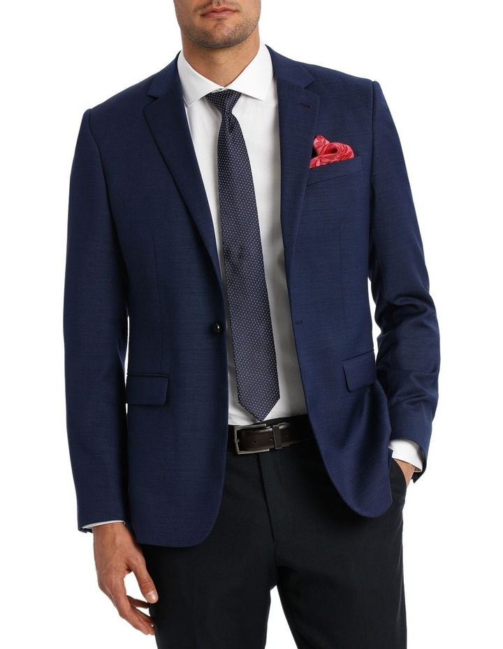 Tailored Textured Suit Jacket image 2