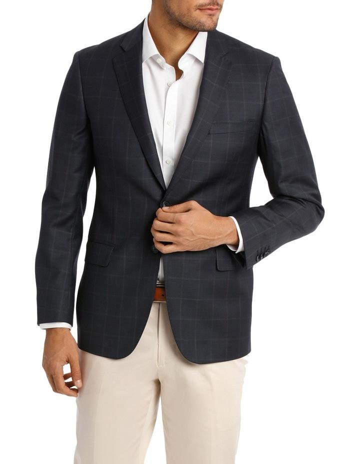 Classic Fit Check Suit Jacket image 1
