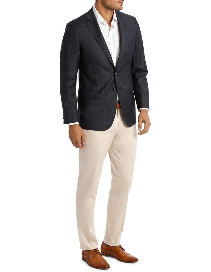 Classic Fit Check Suit Jacket image 2