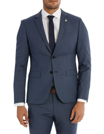 4f0ae6bce Blaq Slim Slim Fit Sharkskin Suit Jacket