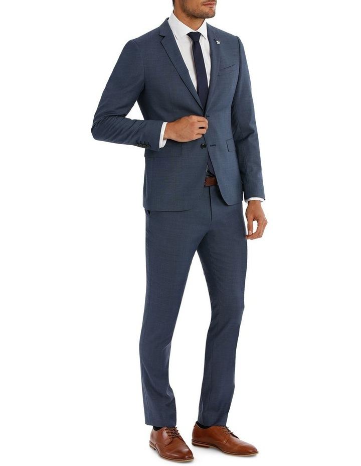 Slim Fit Sharkskin Suit Jacket image 2