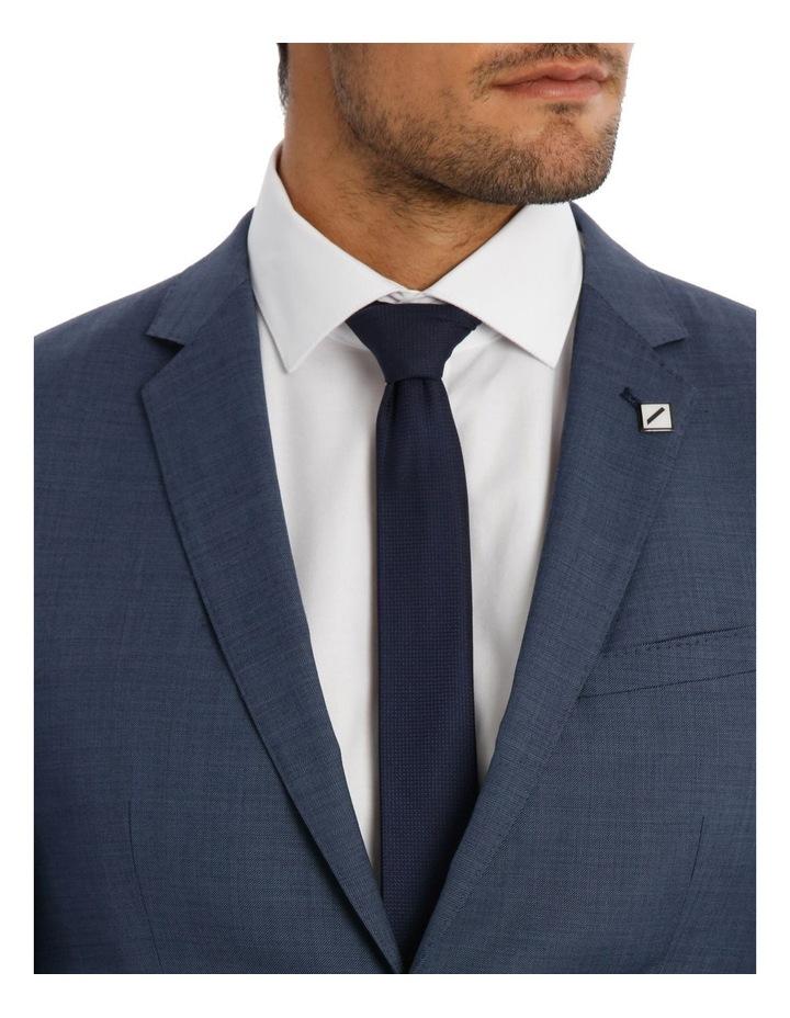 Slim Fit Sharkskin Suit Jacket image 4