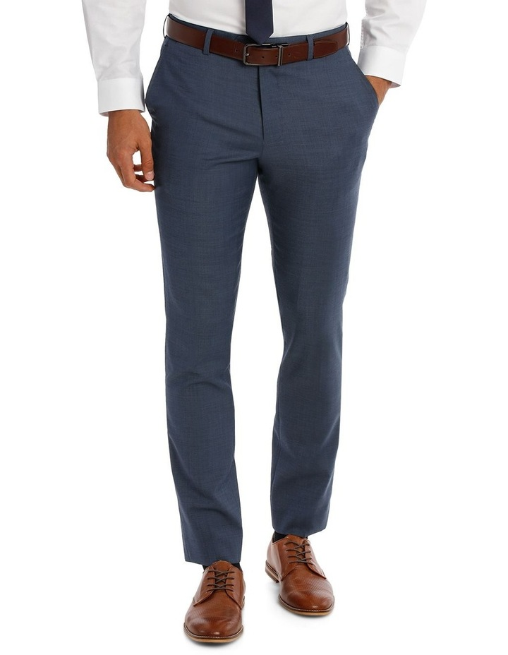 Slim Fit Sharkskin Suit Trouser image 1