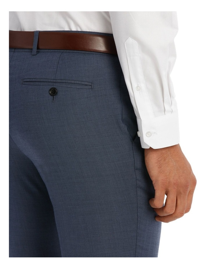 Slim Fit Sharkskin Suit Trouser image 4