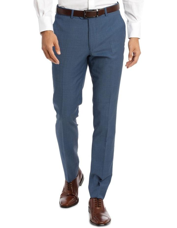 Slim Fit Sharkskin Suit Trouser image 2