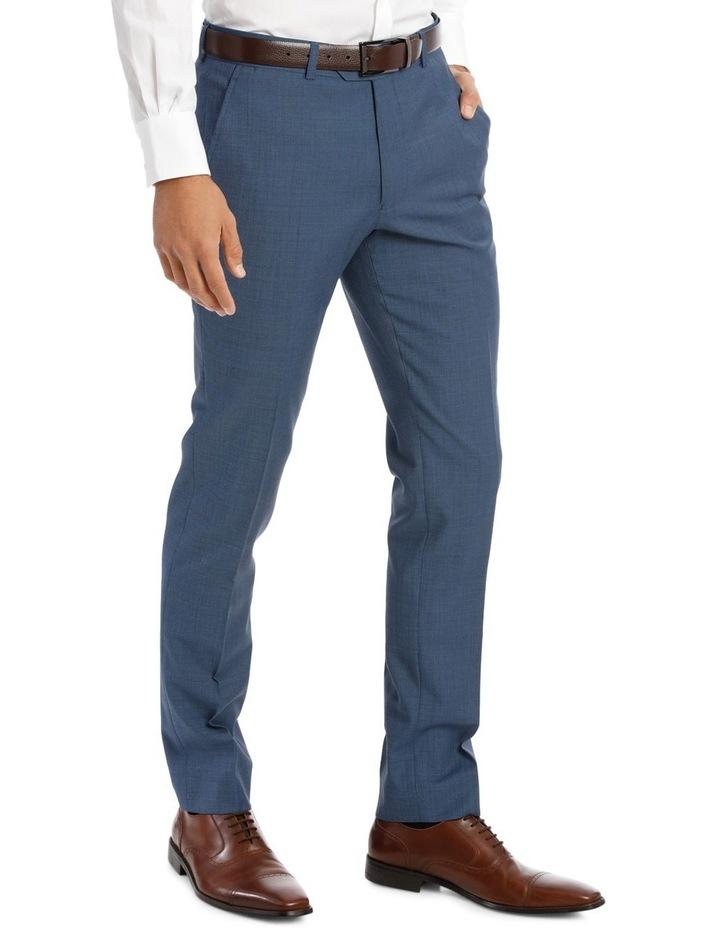 Slim Fit Sharkskin Suit Trouser image 4