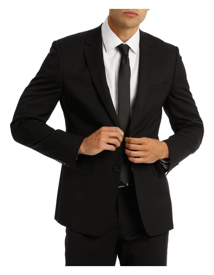 Tailored Fit Plain Suit Jacket 5Q7409 image 1