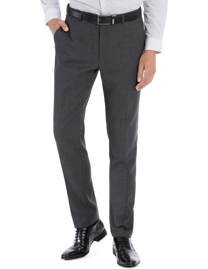 Grey Birdseye Suit Trouser image 2