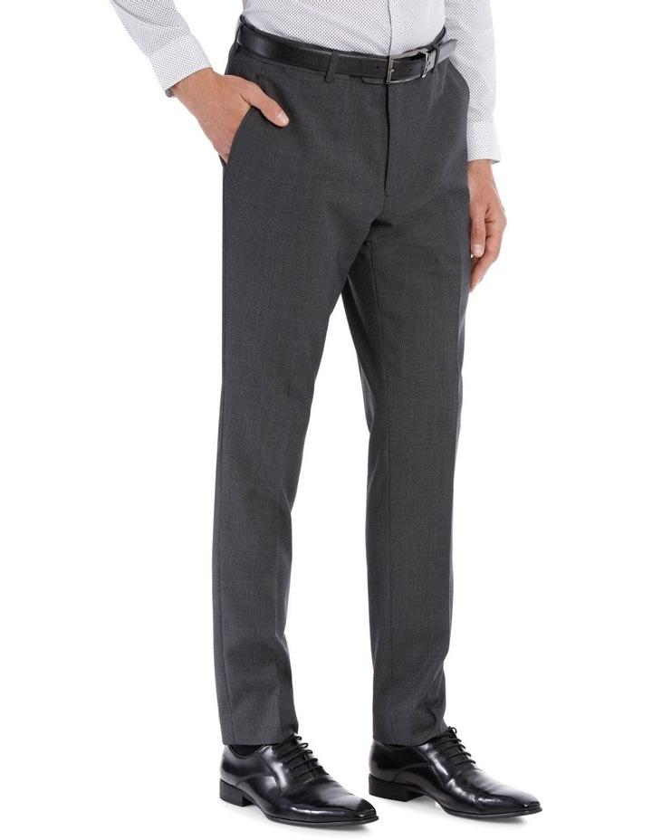 Grey Birdseye Suit Trouser image 4