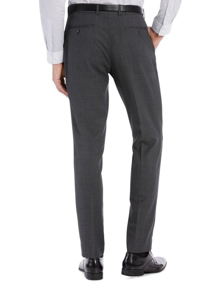 Grey Birdseye Suit Trouser image 6