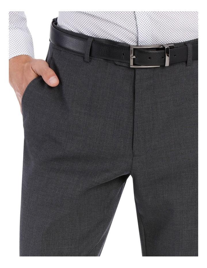 Grey Birdseye Suit Trouser image 8