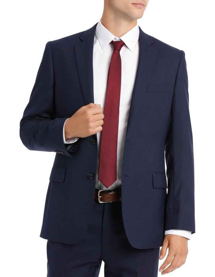 Navy Neat Suit Jacket image 2