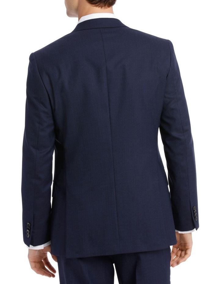 Navy Neat Suit Jacket image 6