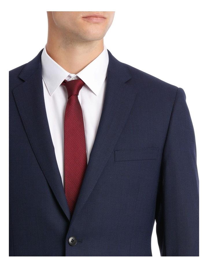 Navy Neat Suit Jacket image 8