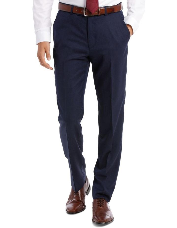 Navy Neat Suit Trouser image 2