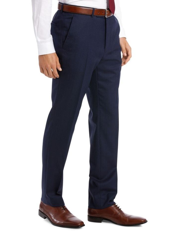 Navy Neat Suit Trouser image 4