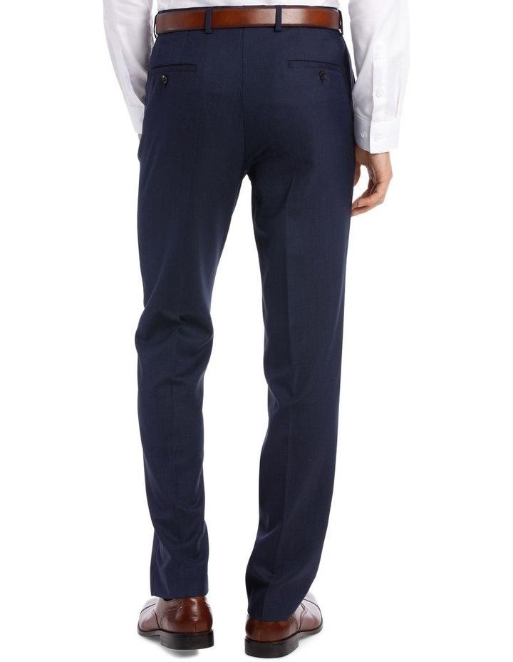Navy Neat Suit Trouser image 6