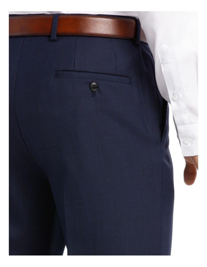 Navy Neat Suit Trouser image 8