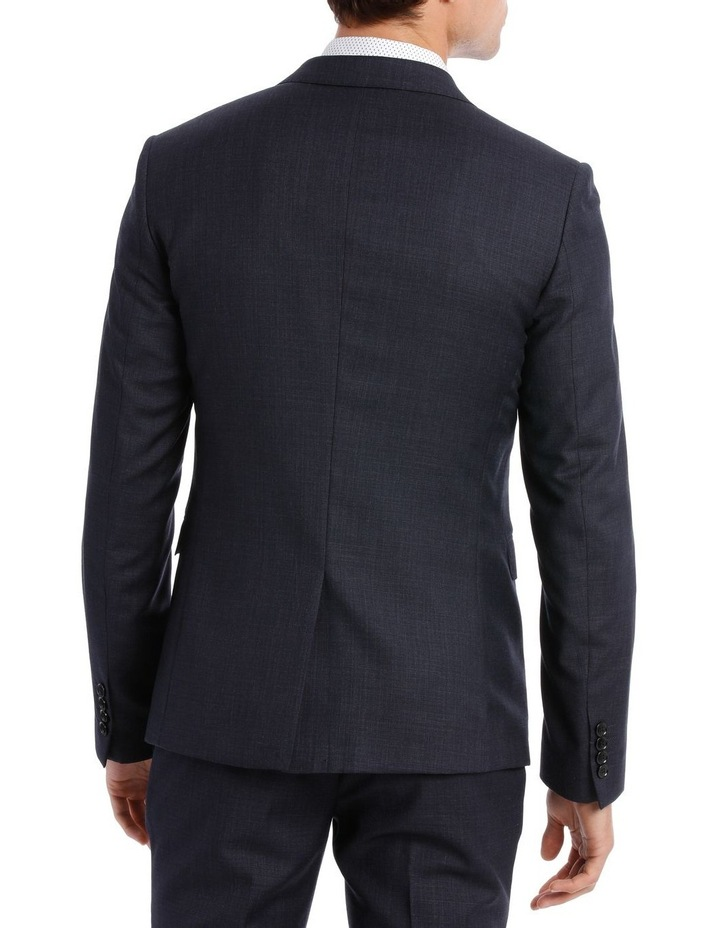 Tailored Navy Weave Suit Jacket image 3