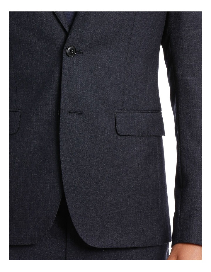 Tailored Navy Weave Suit Jacket image 4