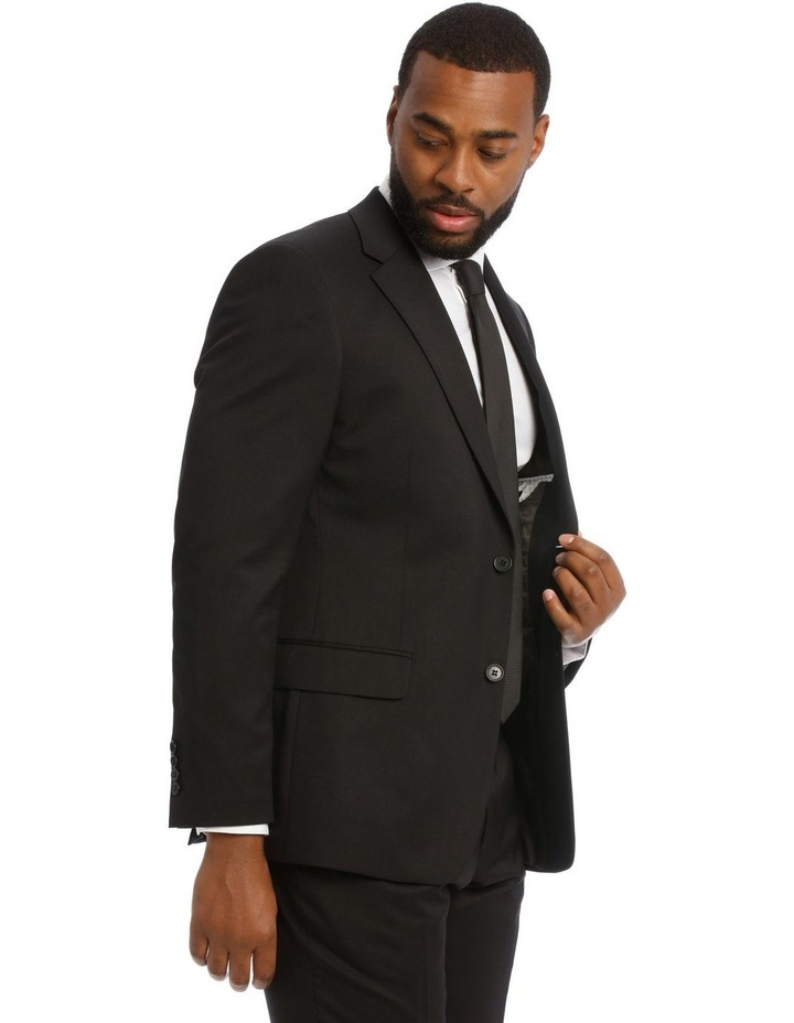 Black Twill Suit Jacket image 2