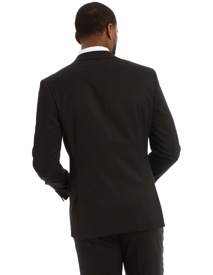 Black Twill Suit Jacket image 3