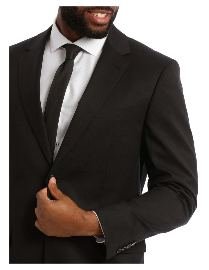 Black Twill Suit Jacket image 4