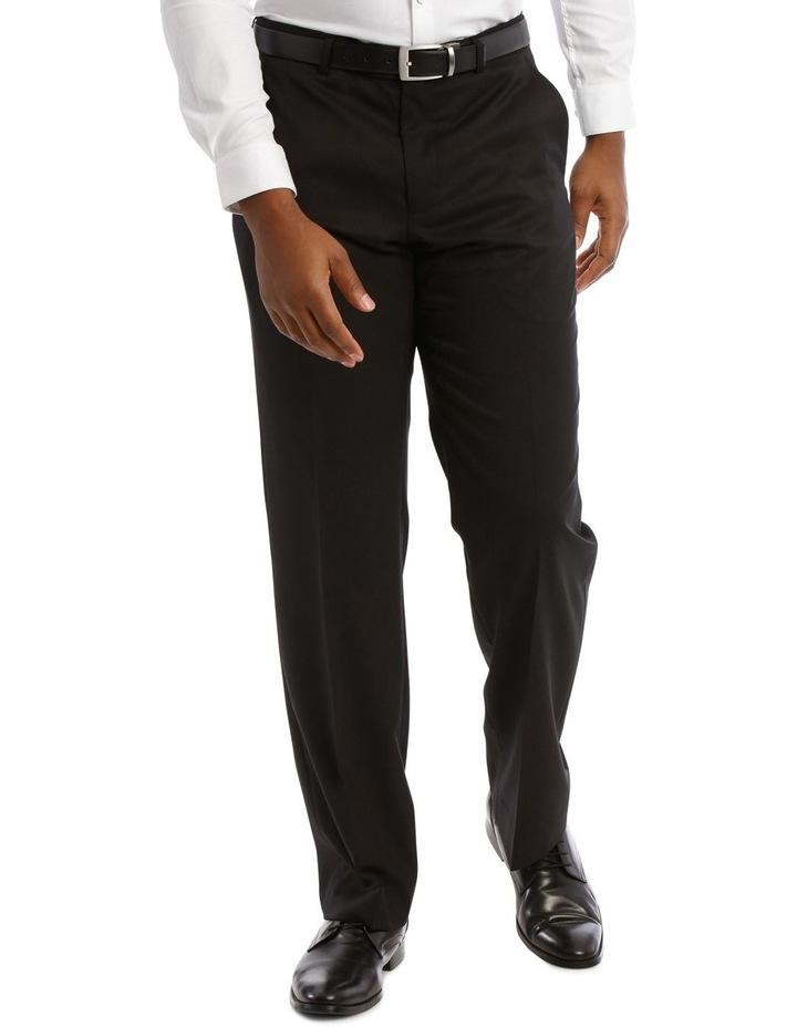 Black Twill Suit Trouser image 1