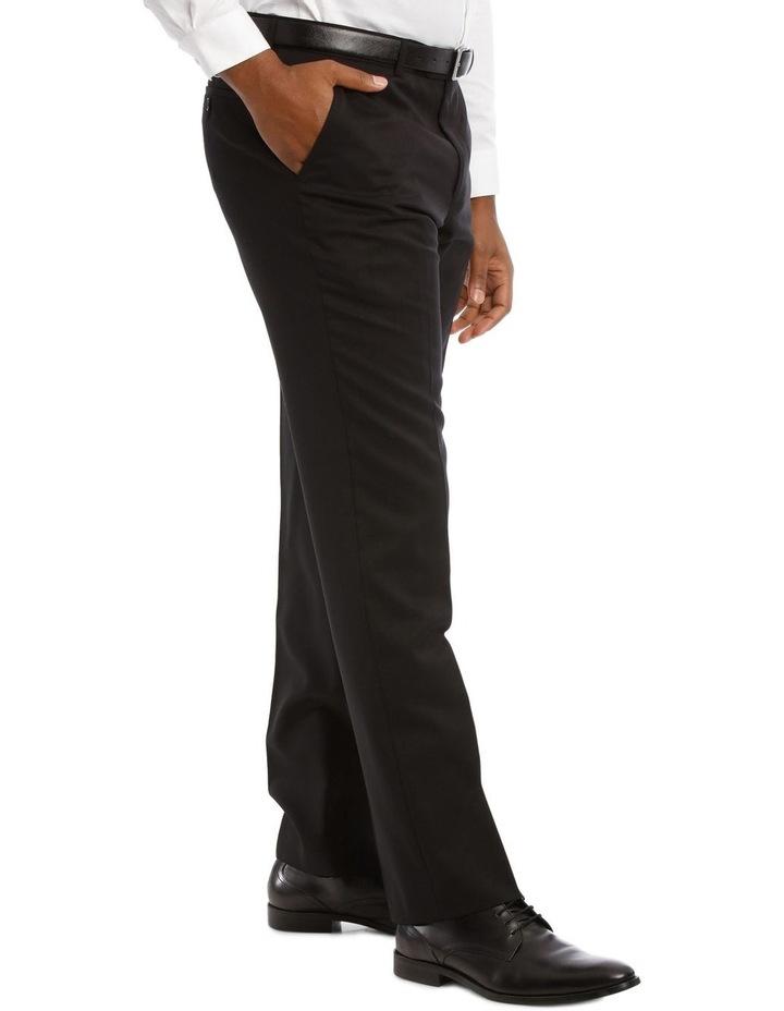 Black Twill Suit Trouser image 2