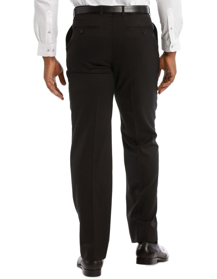 Black Twill Suit Trouser image 3