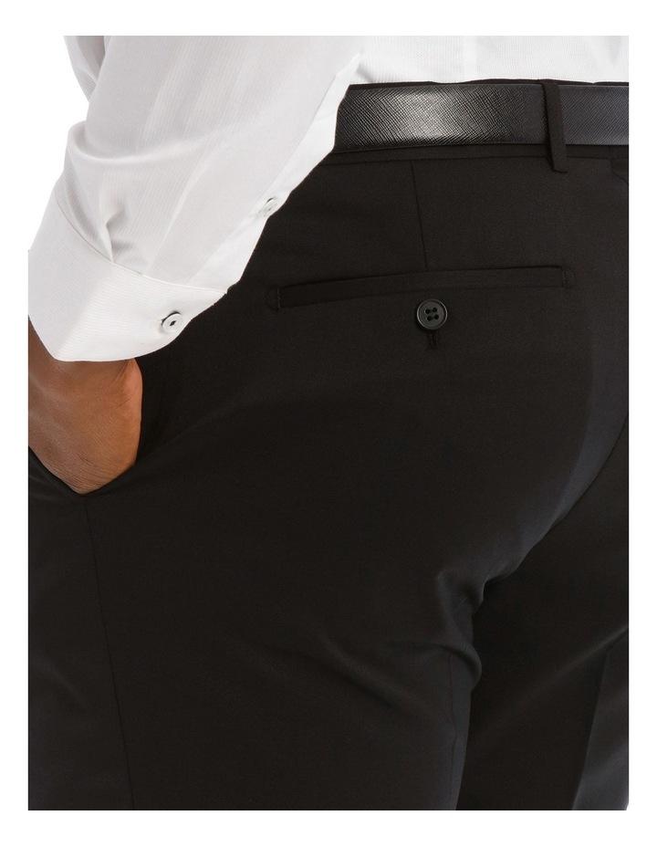 Black Twill Suit Trouser image 4