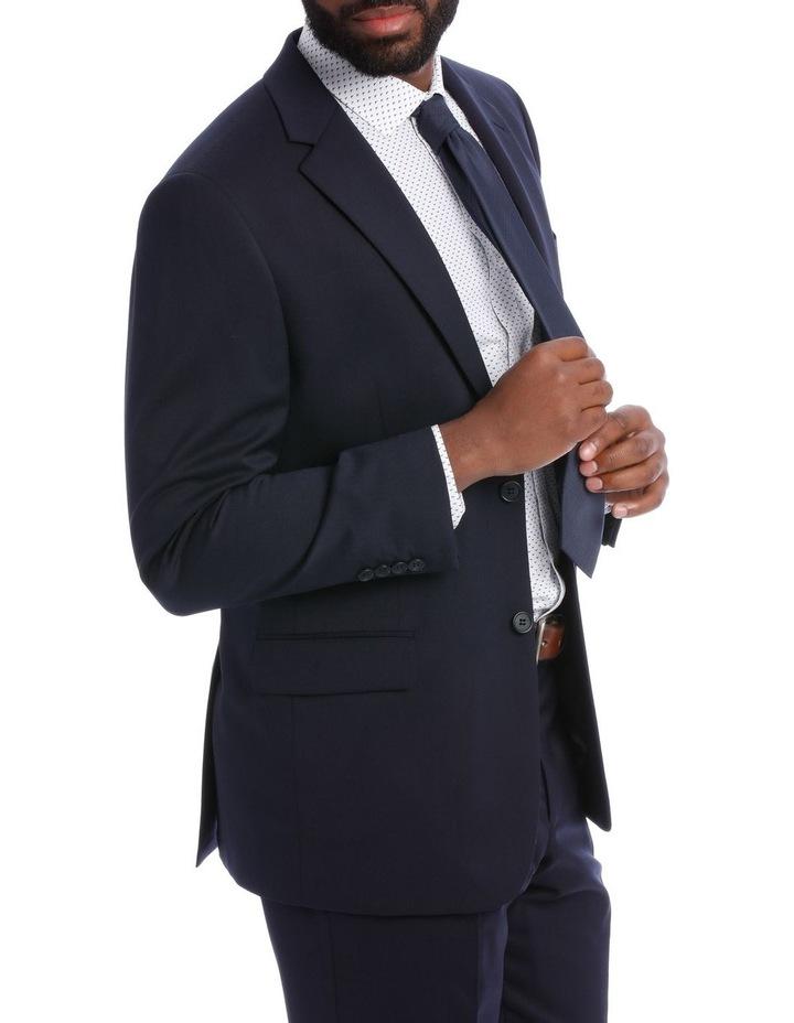 Navy Twill Suit Jacket image 2