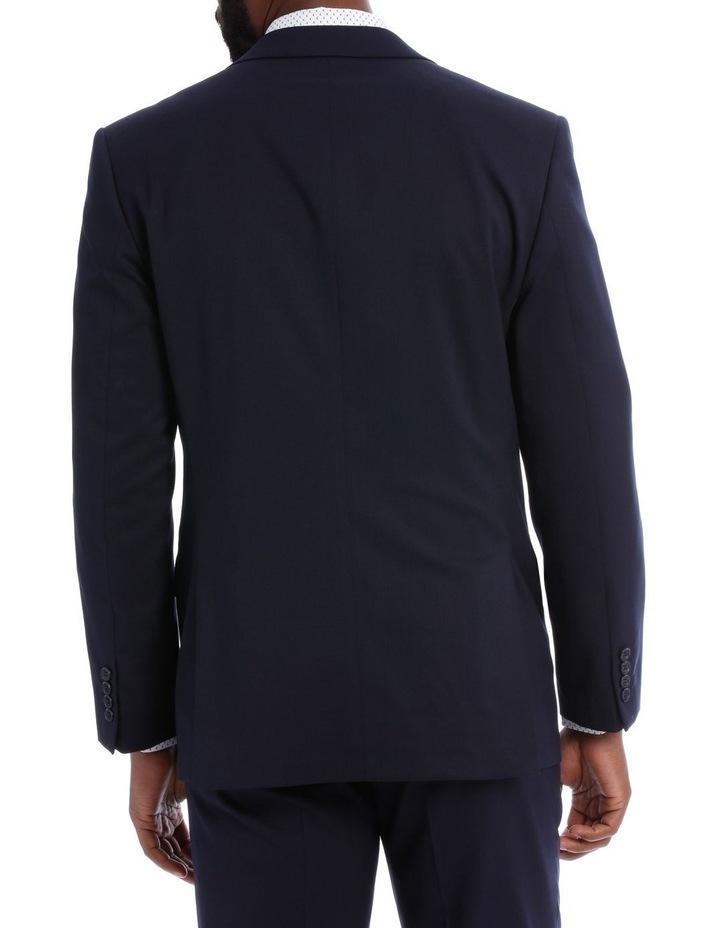 Navy Twill Suit Jacket image 3