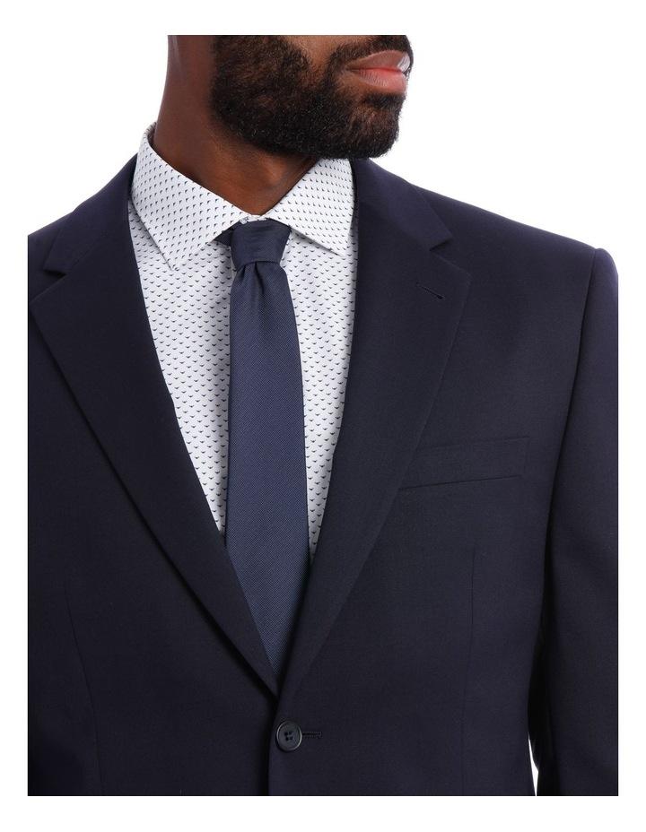 Navy Twill Suit Jacket image 4