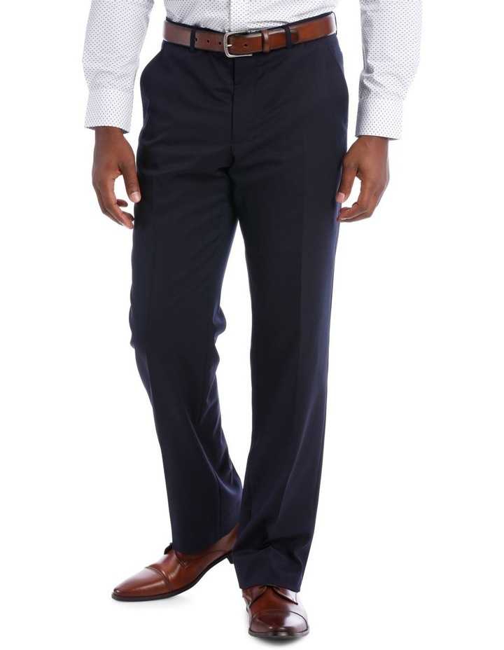 Navy Twill Suit Trouser image 1