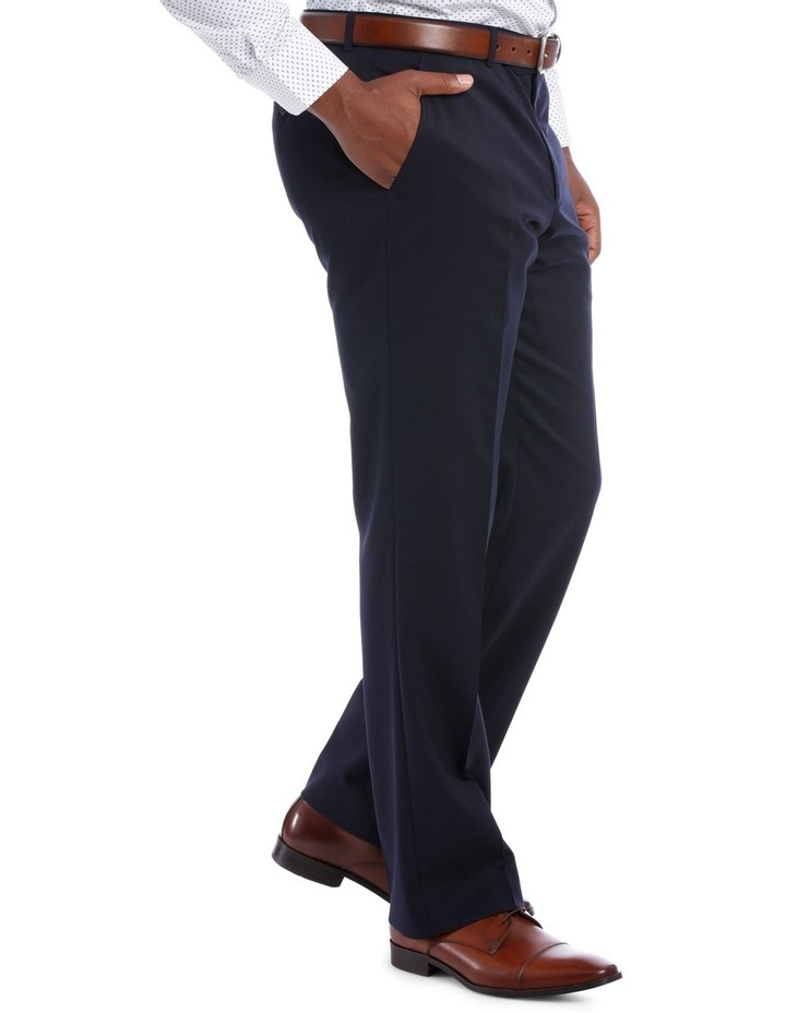 Navy Twill Suit Trouser image 2