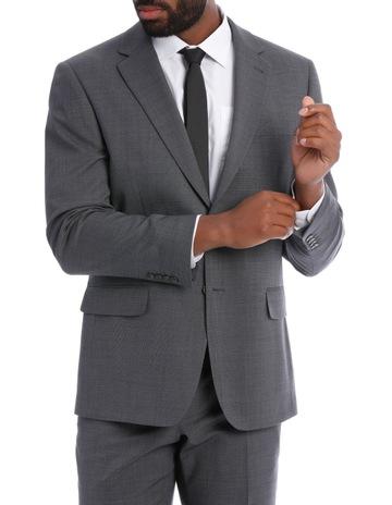 544f38d16b Reserve Classic Grey Texture Suit Jacket