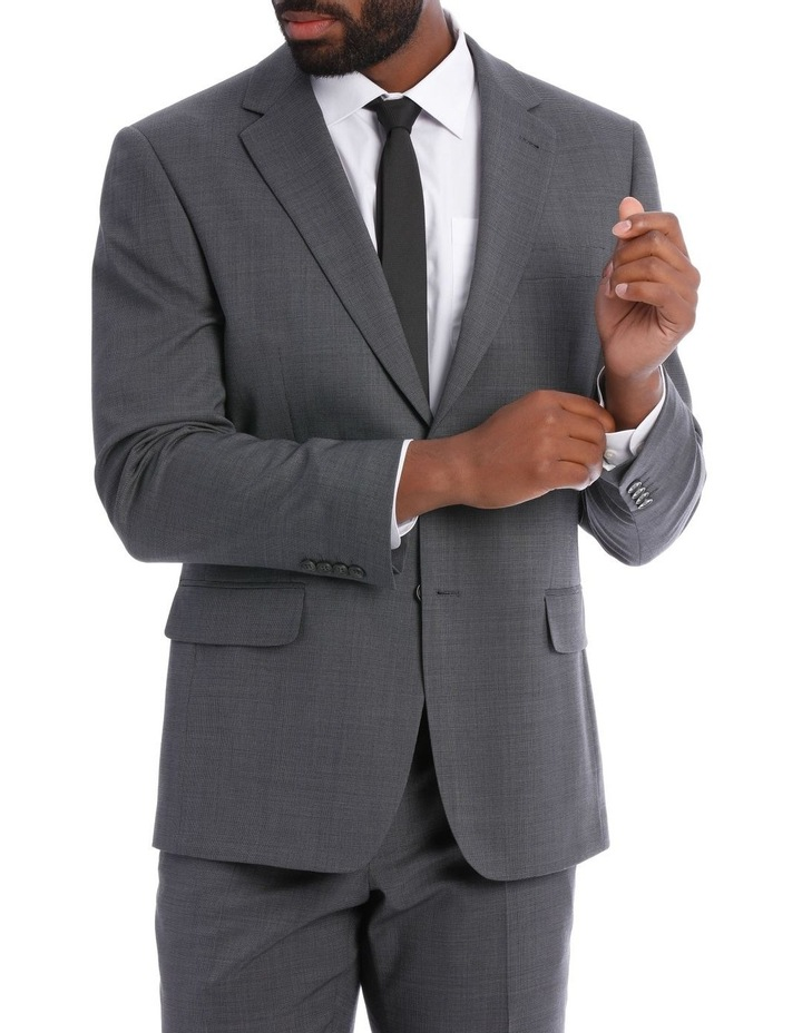 Classic Grey Texture Suit Jacket image 1