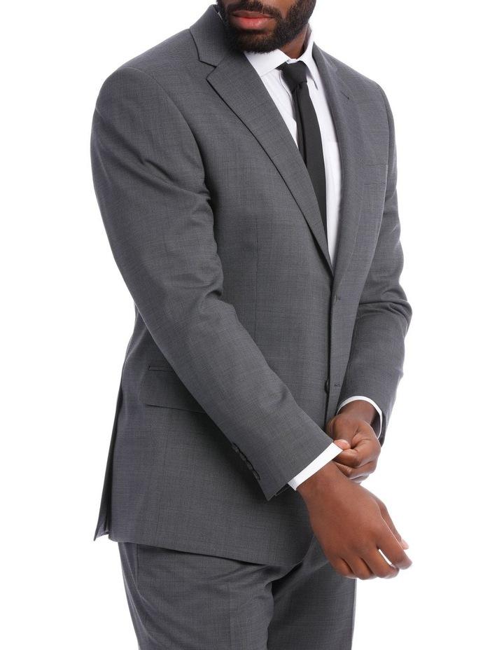 Classic Grey Texture Suit Jacket image 2